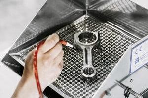 spolenhet för renhetsmätning